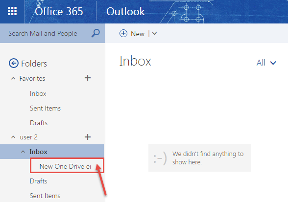 how to create an inbox rule in office 365 outlook