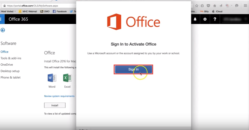 office365 11 mac