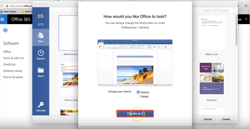 office365 13 mac