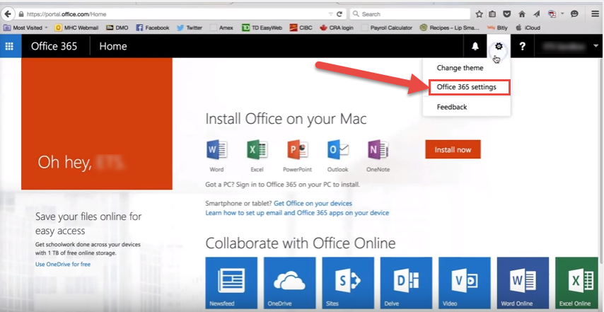 office365 2 mac